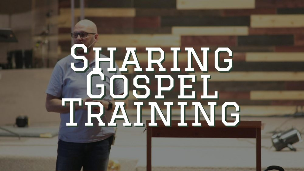 Sharing Gospel Training Image