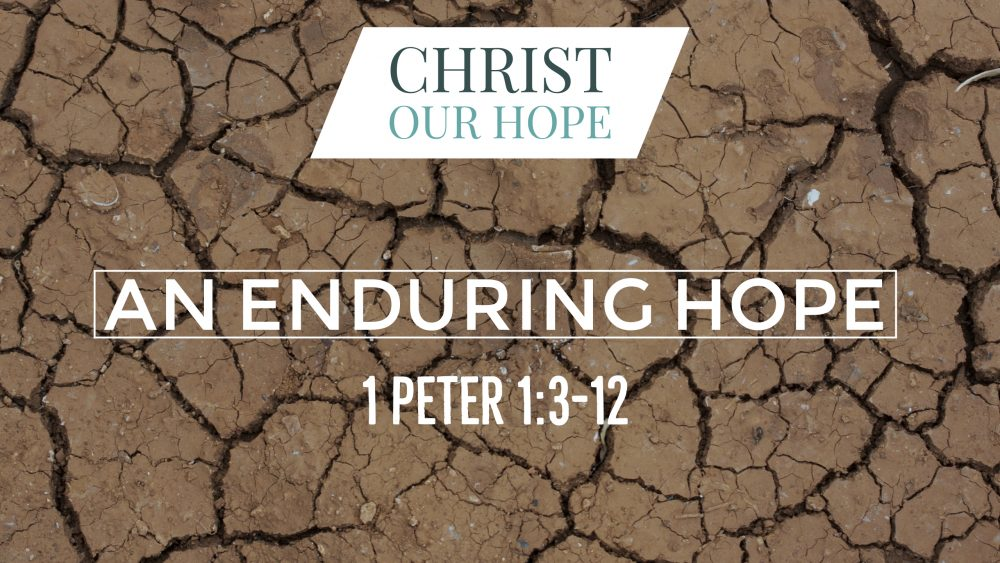 An Enduring Hope | 1 Peter 1:3-12 Image