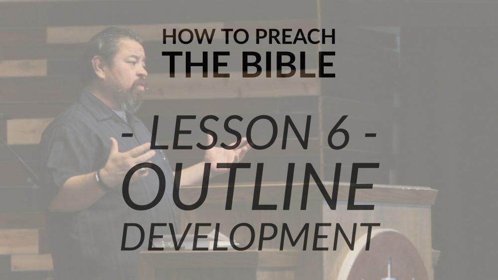 Lesson 6 | Outline Development Image