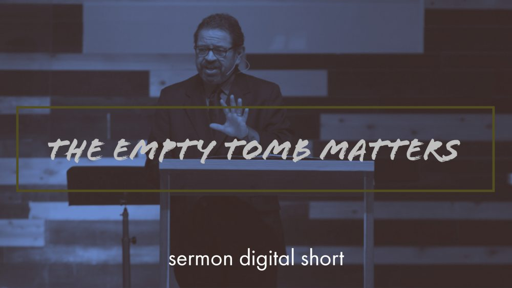 The Empty Tomb Matters  Image