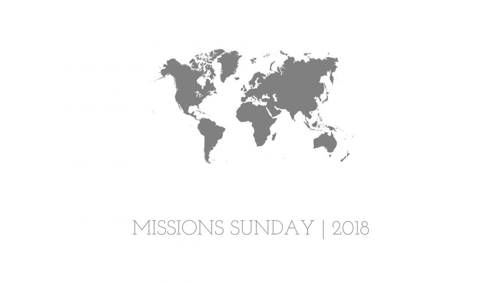 God\'s Counterintuitive Principles | Missions Sunday 2018 Image
