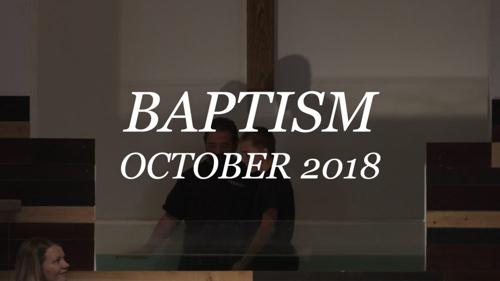 Charles Wilson Jr Baptism Image