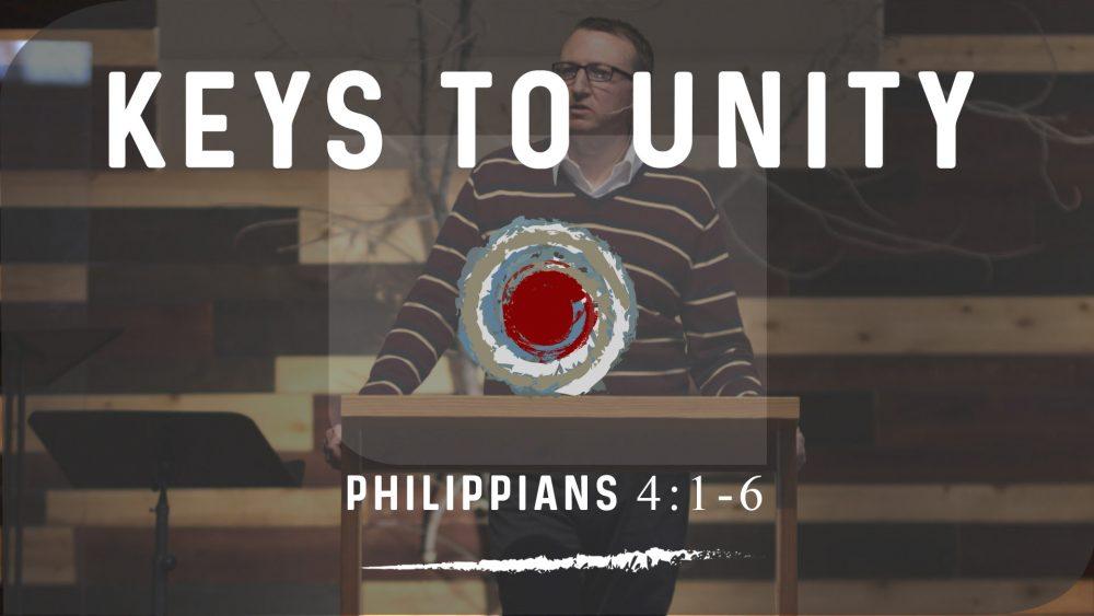 Keys to Unity | Philippians 4:1-6 Image
