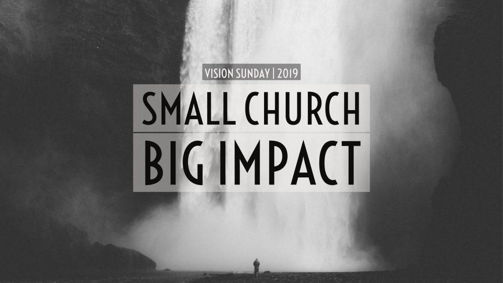 Small Church. Big Impact. | Acts 13:1-3 | FULL SERMON Image