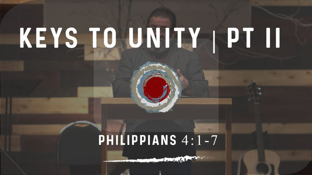 Keys to Unity PART II | Philippians 4:1-7 Image