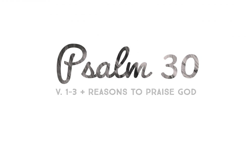Psalm 30 | Reasons To Praise God |