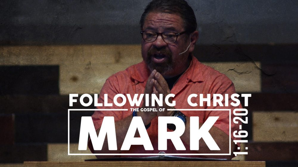 Following Christ | Mark 1:16-20 Image