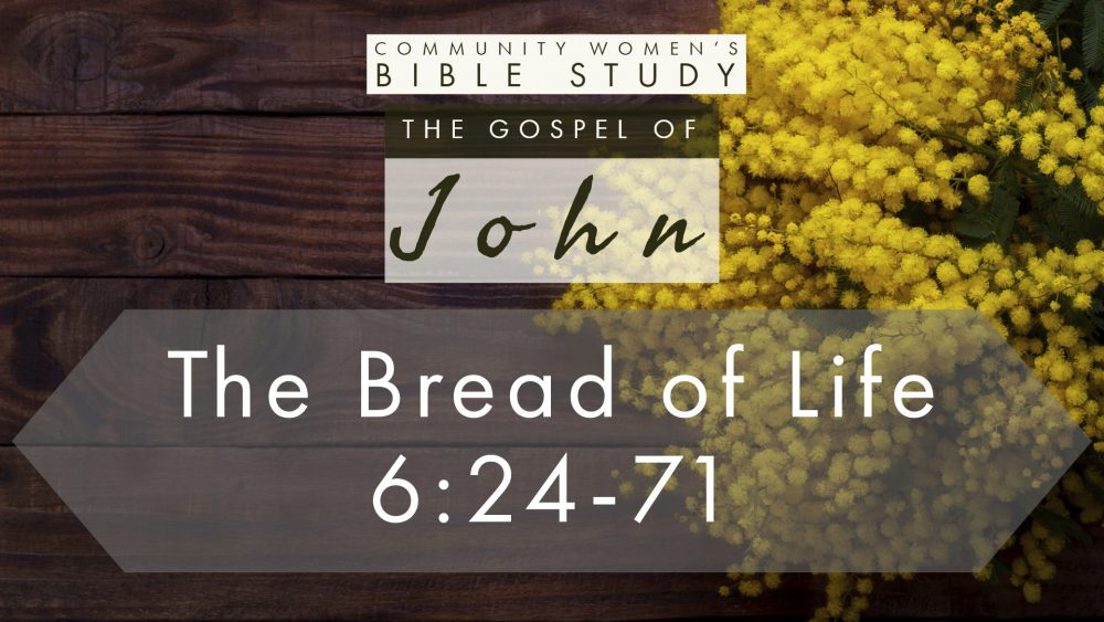 The Bread of Life | John 6:24-71 | CWBS Image