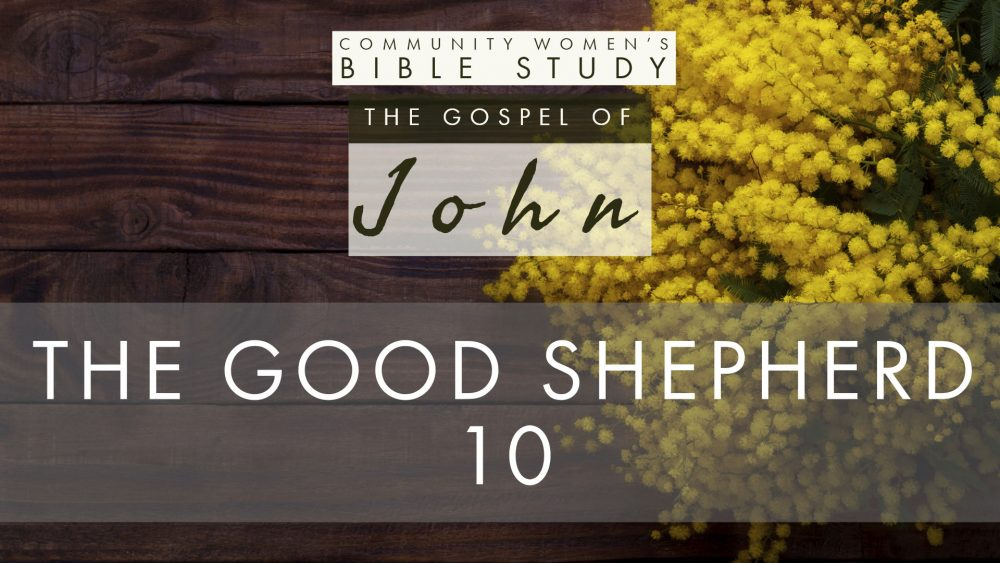 The Good Shepherd | John 10 | CWBS