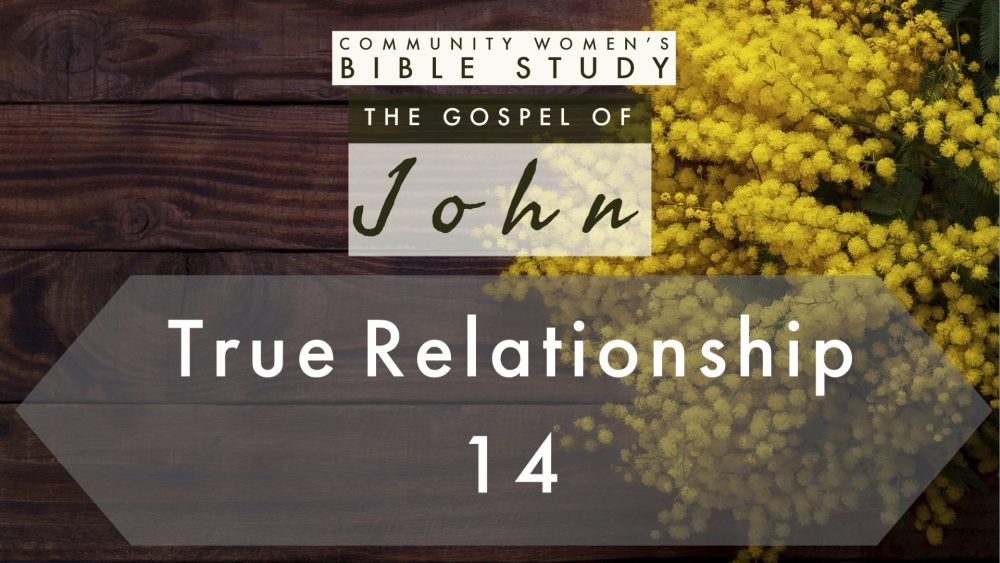 True Relationship | John 14 | CWBS Image
