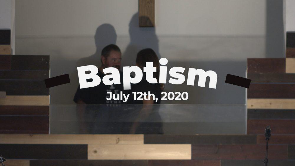 July 12, 2020 Baptism Image