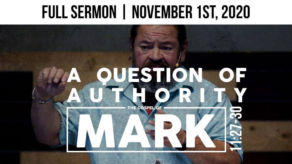 A Question of Authority | Mark 11:27-30 Image