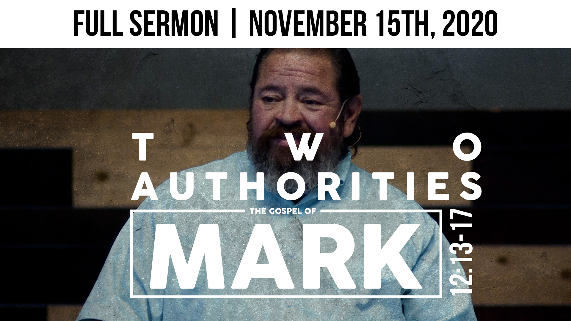 Two Authorities | Mark 12:13-17