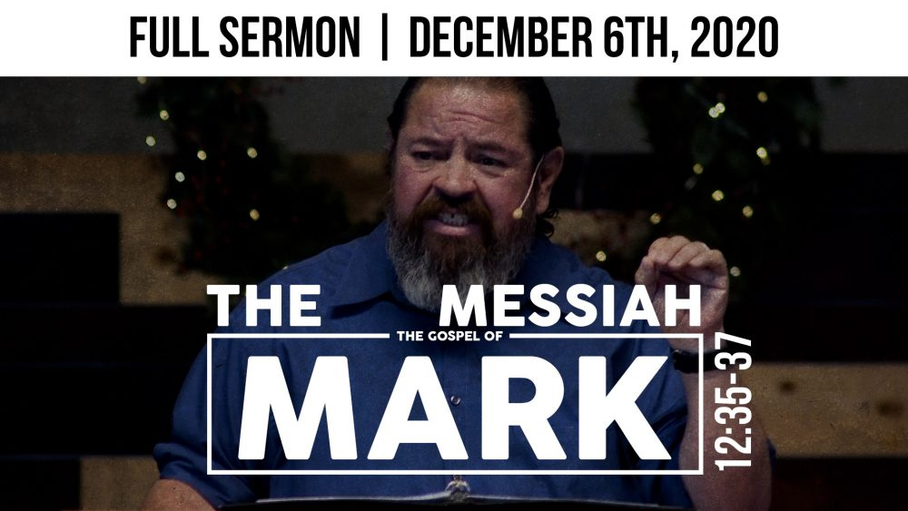 The Messiah | Mark 12:35-37 Image