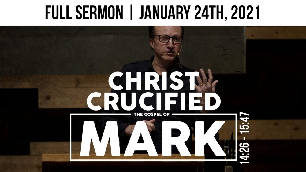 Christ Crucified | Mark 14:26-15:47 Image