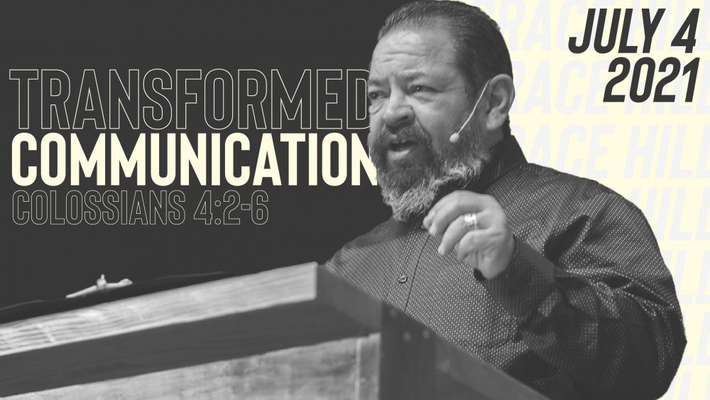 Transformed Communication | Colossians 4:2-6 Image